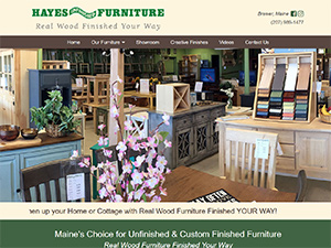Hayes Unfinished Furniture